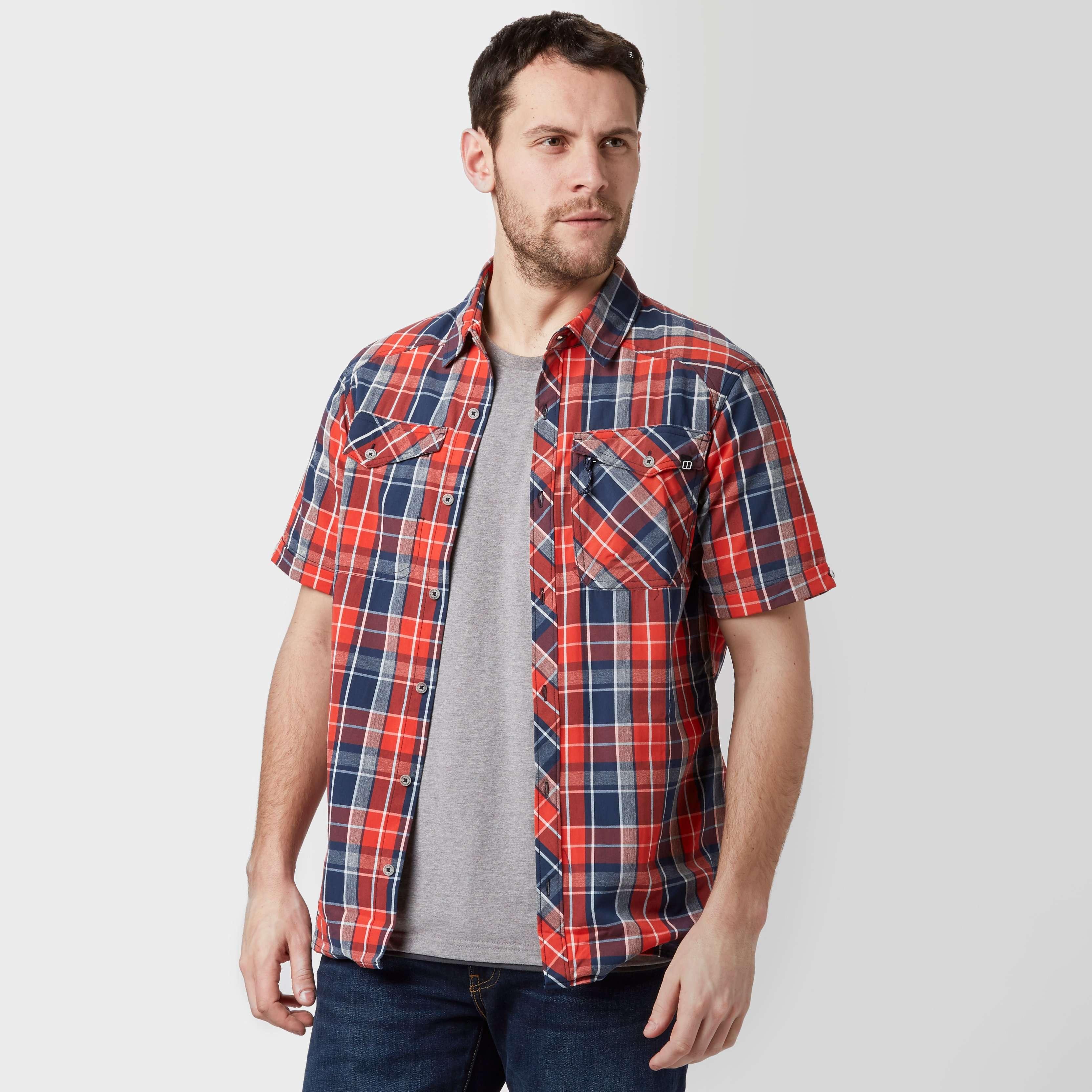 BERGHAUS Men's Explorer Eco Short Sleeve Shirt