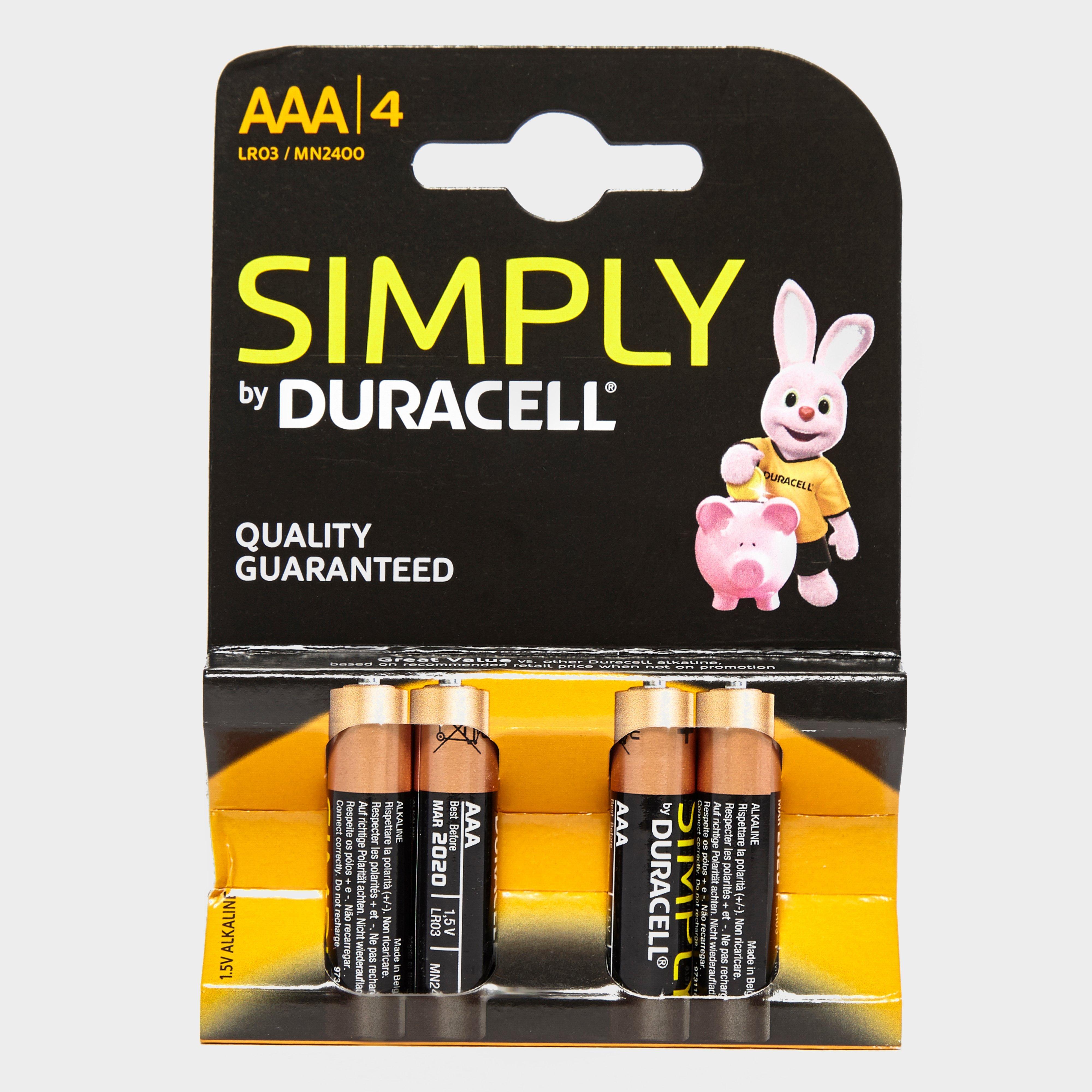 Duracell AAA Batteries, Multi/2400