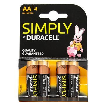 N/A Duracell AA Batteries