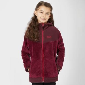 JACK WOLFSKIN Girl's Little Bear Full Zip Hooded Fleece