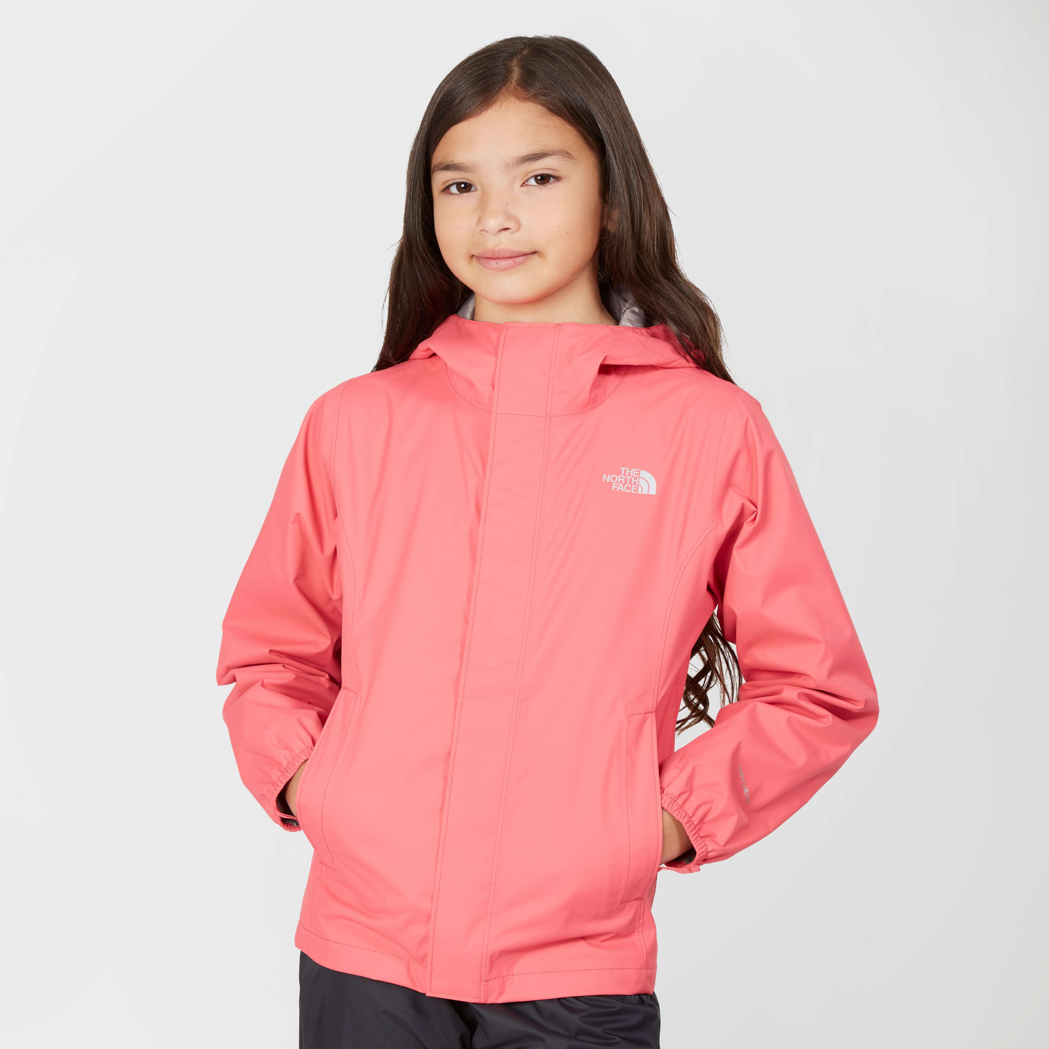 THE NORTH FACE Girls' Resolve Waterproof Jacket