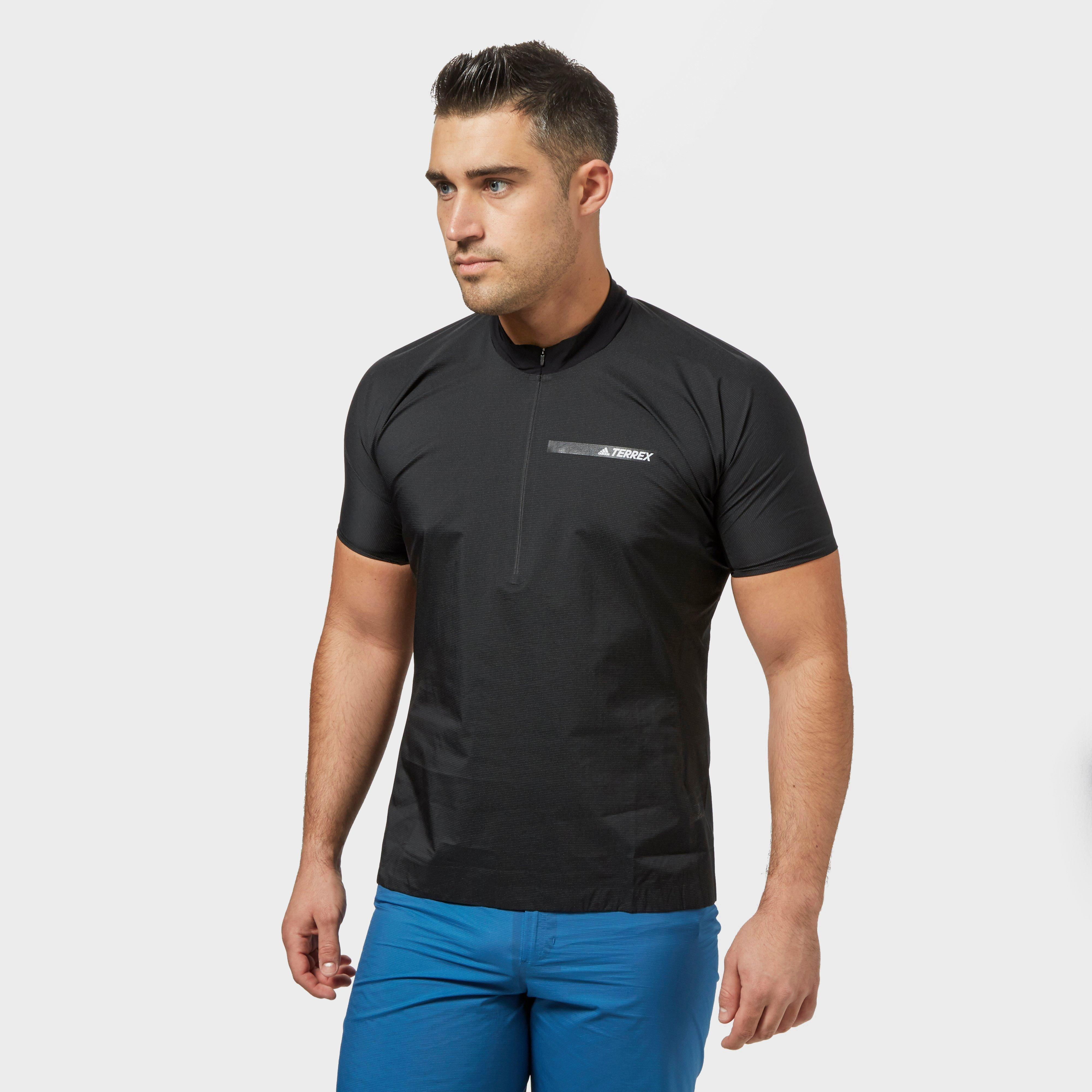 Image of Adidas Men's Agravic Terrex Windshirt, Black