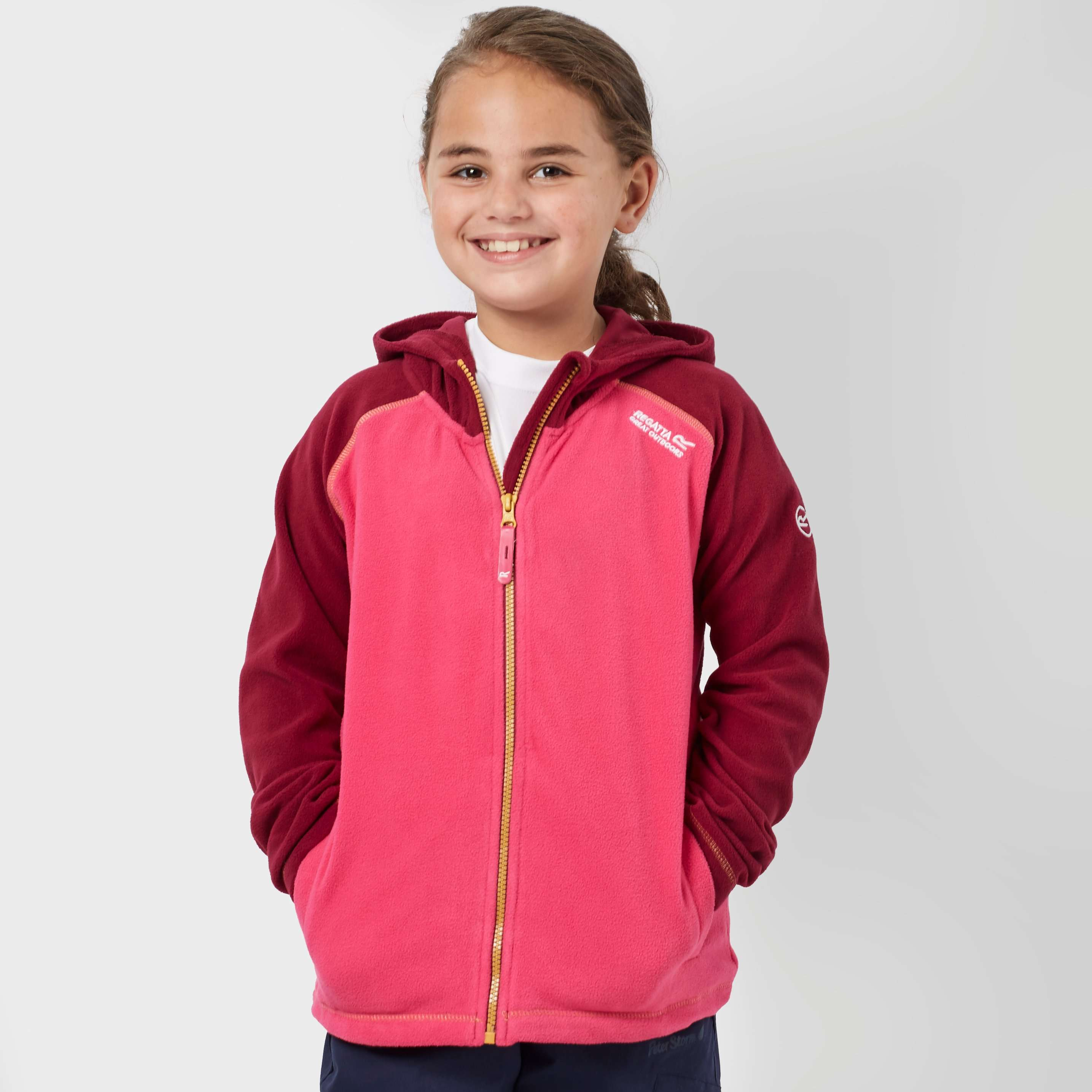 REGATTA Girl's Upflow Hooded Fleece