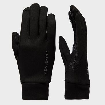 9325ca6fe34 Black SEALSKINZ Women s Fairfield Water-Resistant Gloves ...
