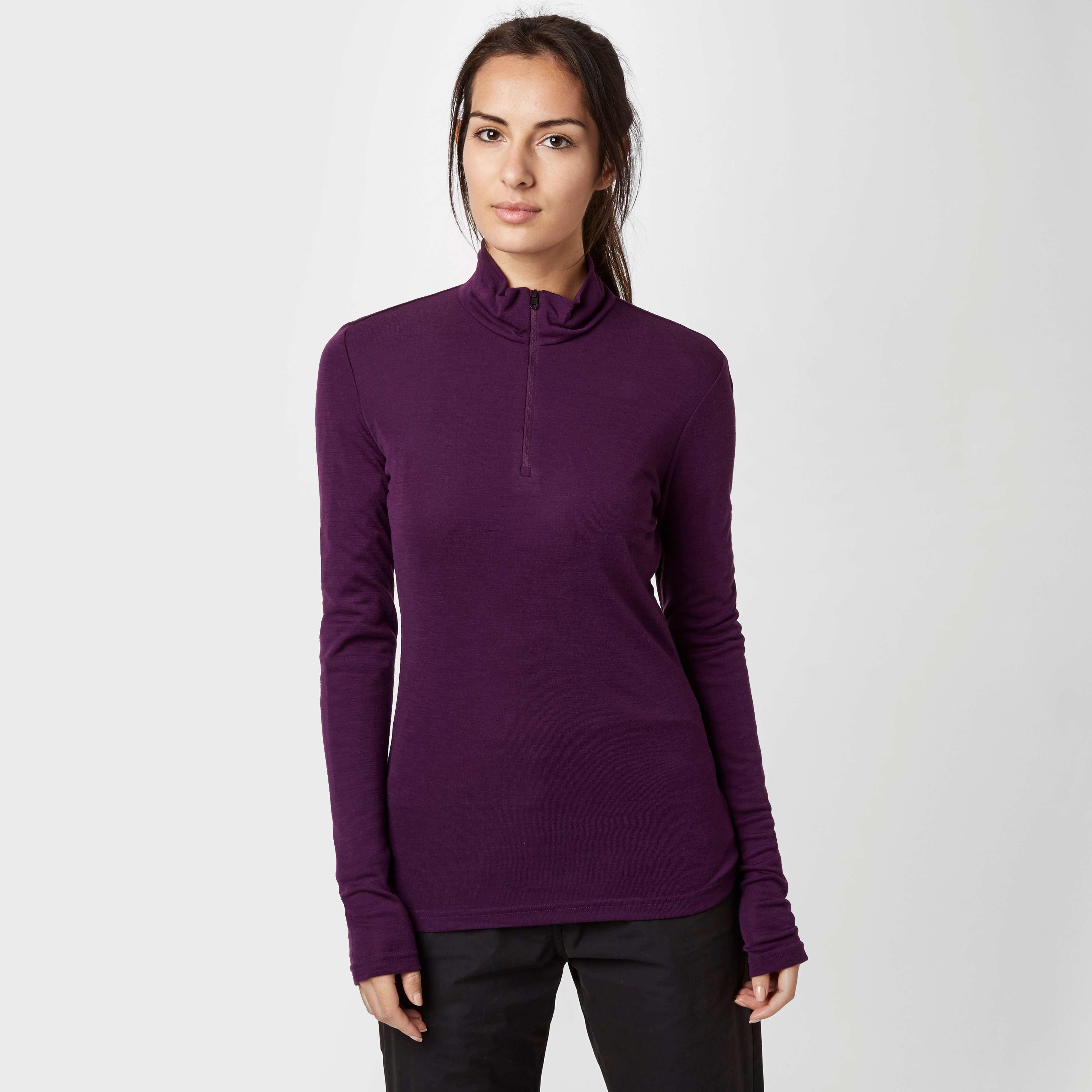 ICEBREAKER Women's Everyday Long Sleeve Half Zip Baselayer