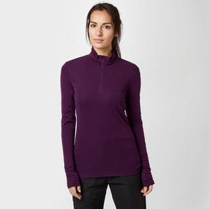 ICEBREAKER Women's Everyday Long Sleeve Half Zip Baselayer