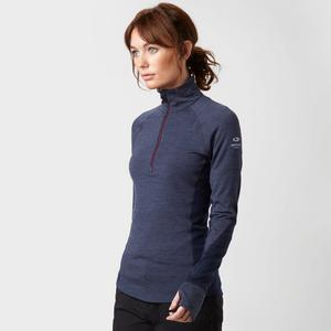 ICEBREAKER Women's BodyfitZONE® Winter Zone Long Sleeve Half Zip Baselayer