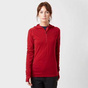 ICEBREAKER Women's Terra Long Sleeve Half Zip Hoodie
