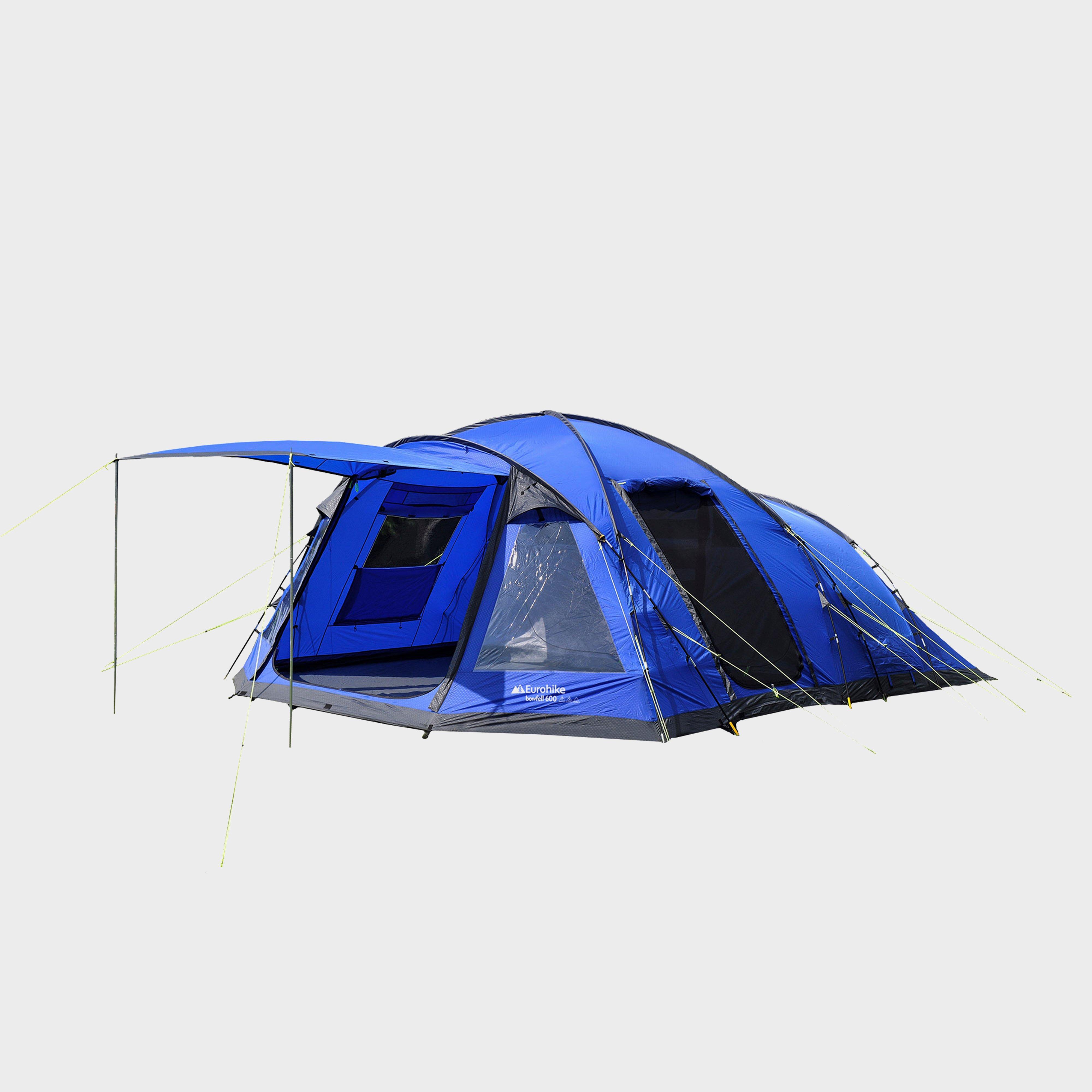 EUROHIKE Bowfell 600 6 Person Tent & Family u0026 Group Tents | 4 5 6 u0026 8 Man Tents | Blacks