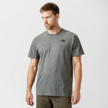 Grey|Grey The North Face Men's Redbox Short Sleeve Tee