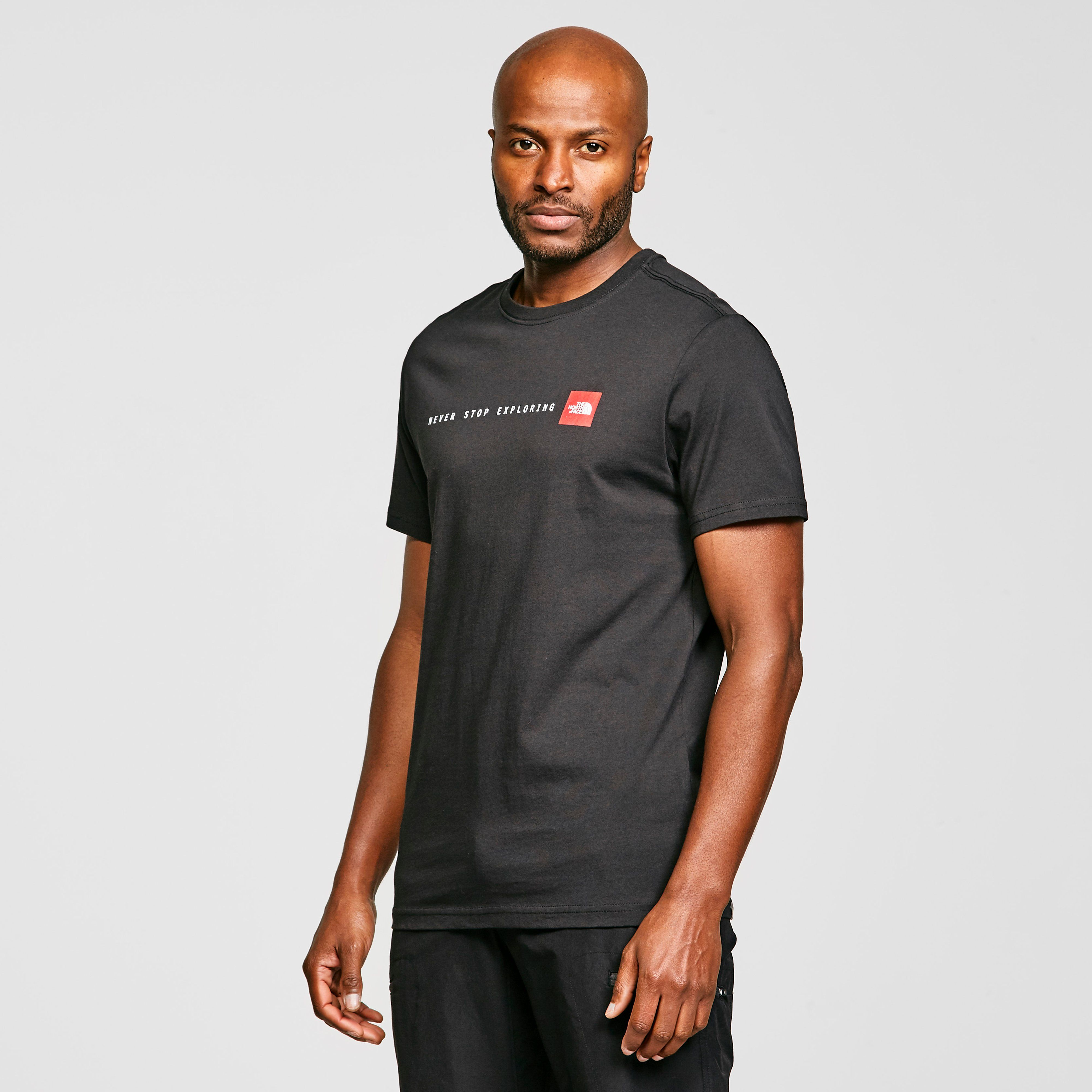 THE NORTH FACE Men's Never Stop Exploring Short Sleeve T-Shirt