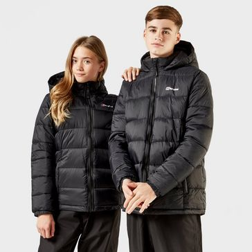 The NORTH FACE boys Insulated Mountain Guide Jacket Mercury//Black XL