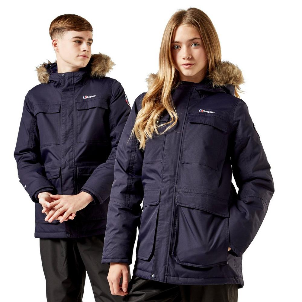 New  Berghaus Boy's Fourstones Parka Kids Coat  comfortably