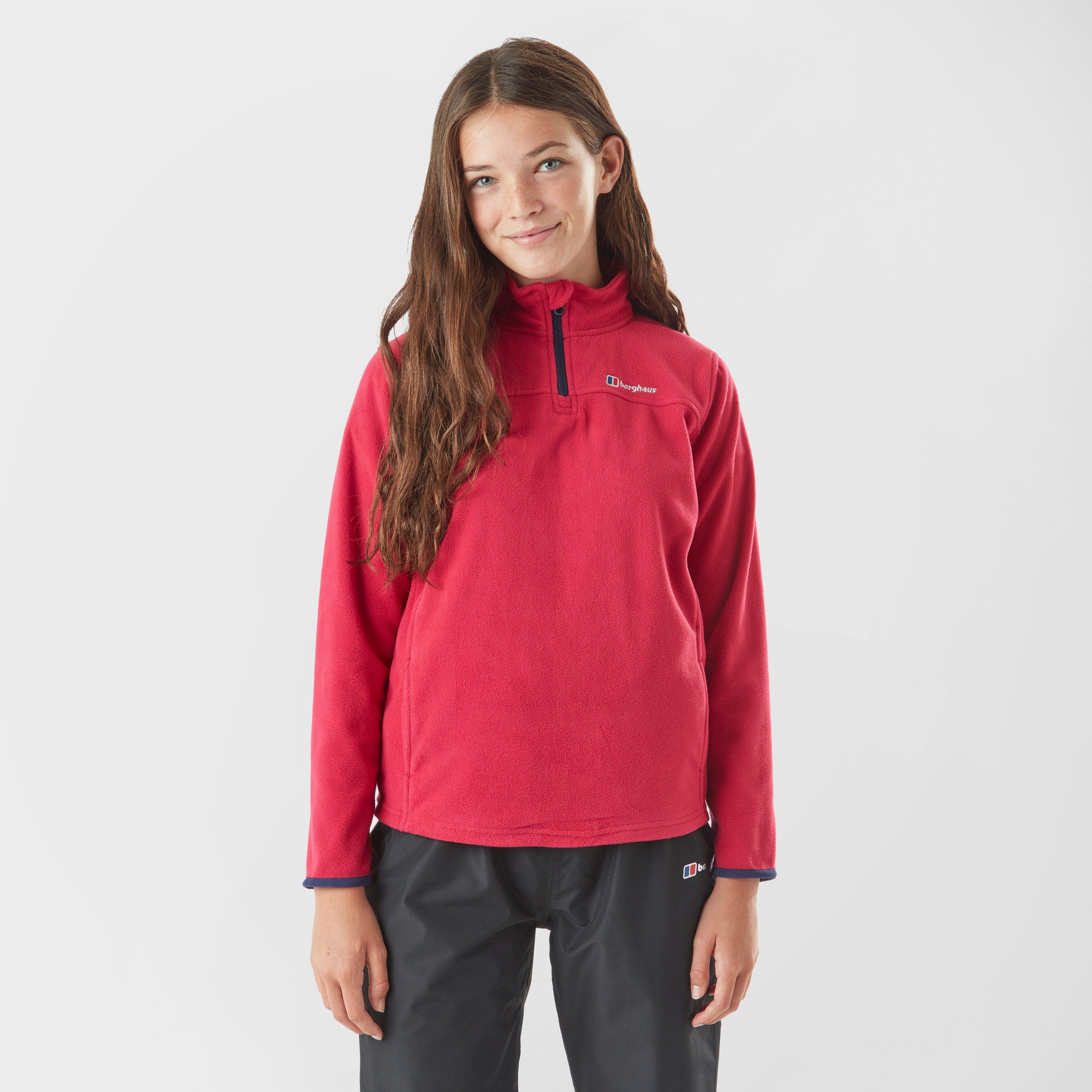 BERGHAUS Girl's Tyndrum Half-Zip Fleece