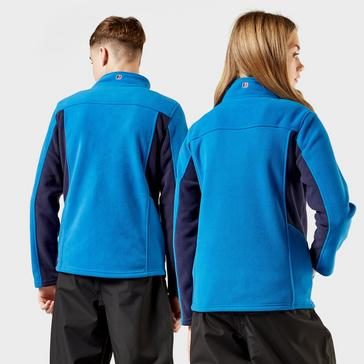 Blue Berghaus Kid's Tyndrum Full Zip Fleece Jacket