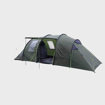 Green EUROHIKE Buckingham 6 Classic Family Tent. Quick buy fcf8bfe800