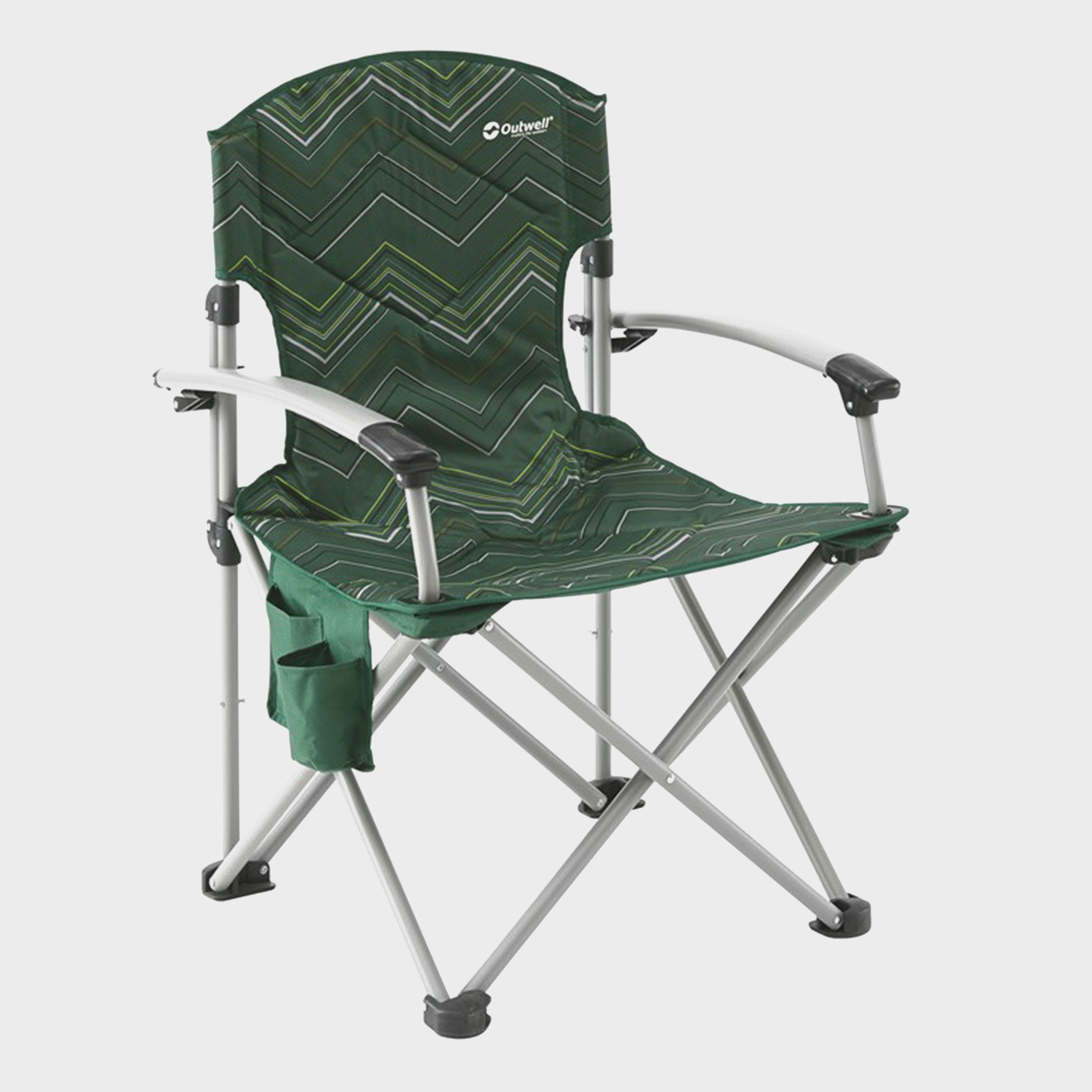 Outwell Fountain Hills Folding Chair Green