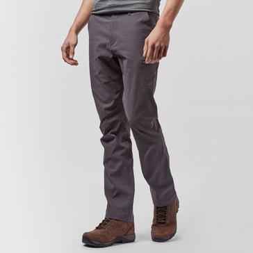 Grey|Grey Brasher Men's Stretch Walking Trousers