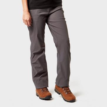 Grey|Grey Brasher Women's Stretch Walking Trousers