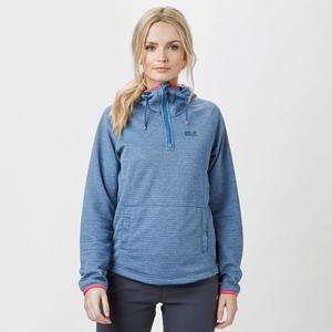 JACK WOLFSKIN Women's Tongari Fleece Hoodie