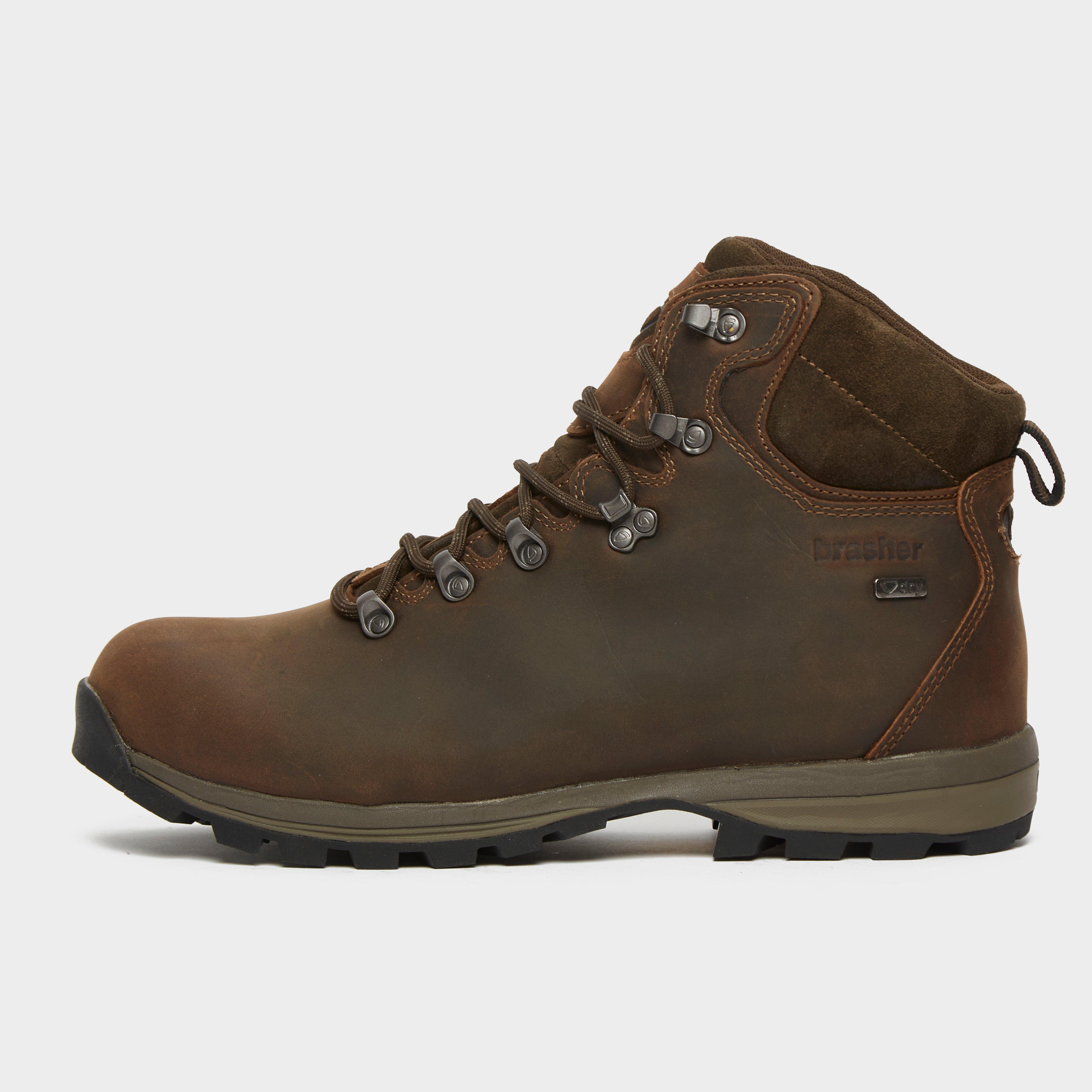 Brasher Brasher Mens Country Walker Walking Boots - Brown, Brown