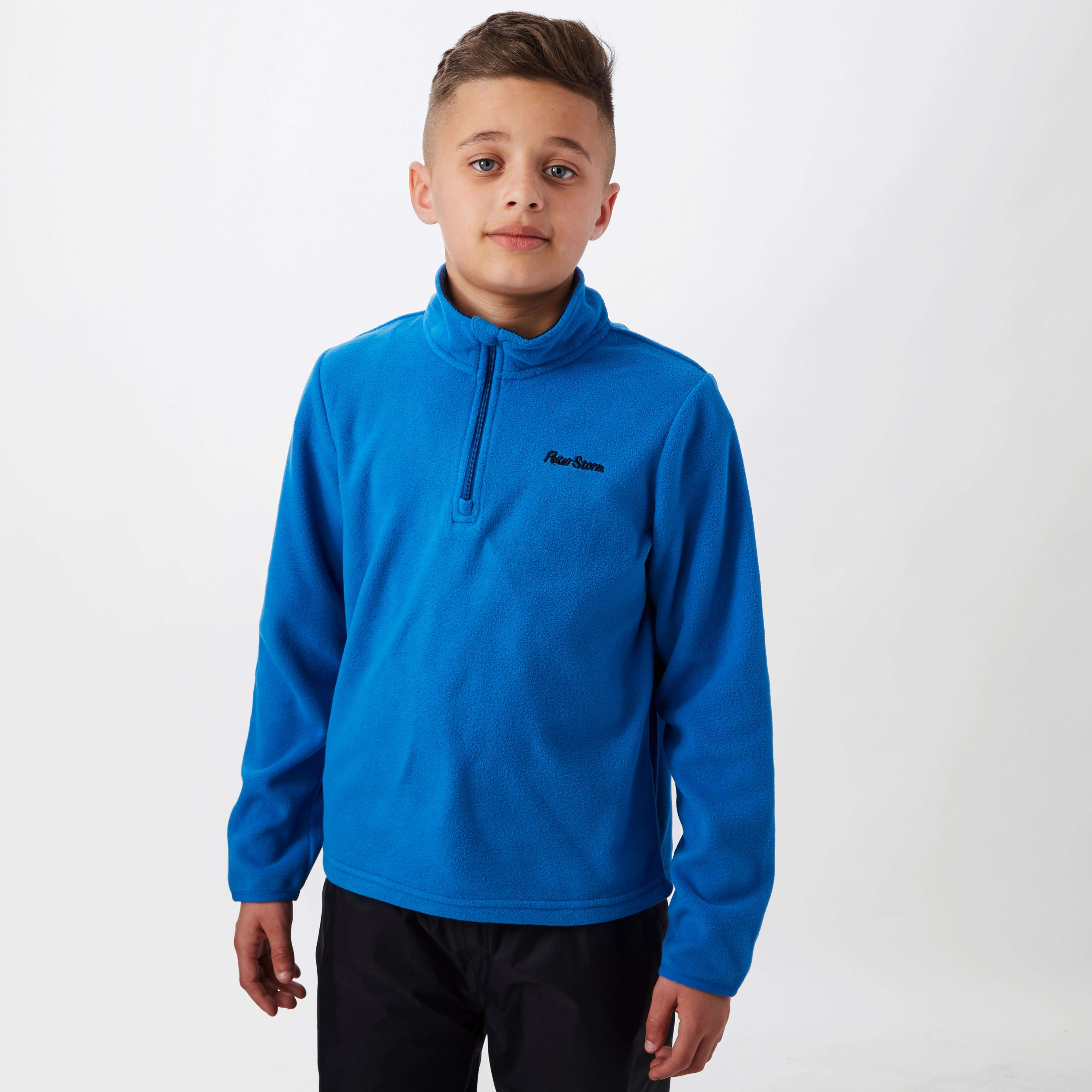 PETER STORM Boys' Coniston II Half Zip Fleece
