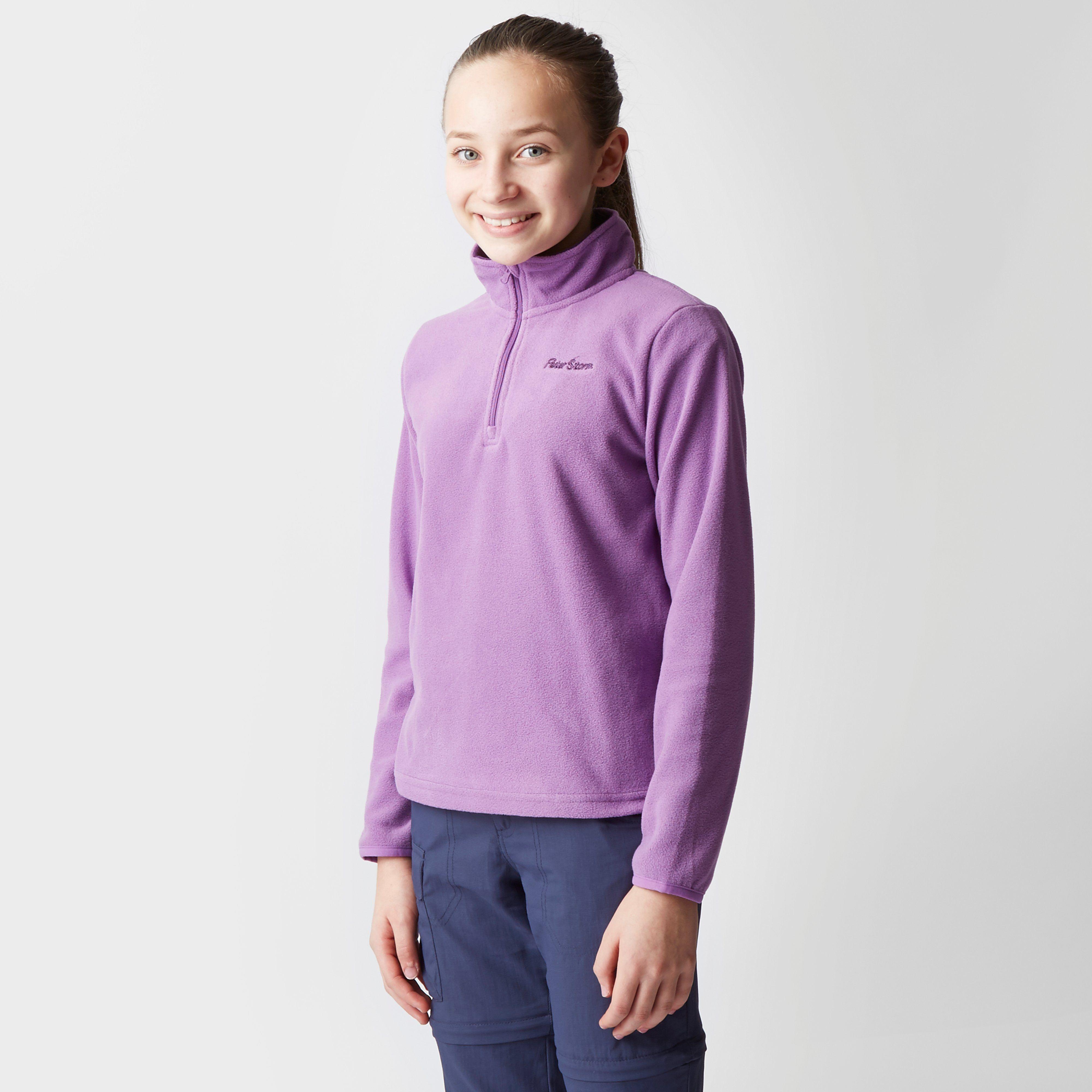 PETER STORM Girl's Coniston 2 Half Zip Fleece