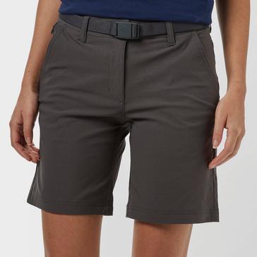 Grey|Grey Brasher Women's Stretch Shorts