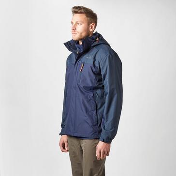 Dark Blue Peter Storm Men's Pennine II Waterproof Jacket