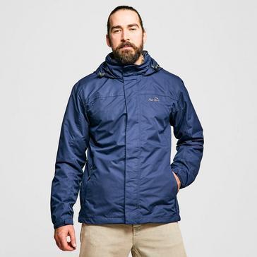 Navy Peter Storm Men's Downpour 2 Layer Waterproof Jacket
