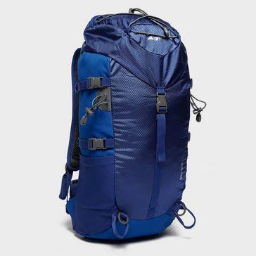 ddc7f924f9dc Blue VANGO Boulder 35 Litre Rucksack
