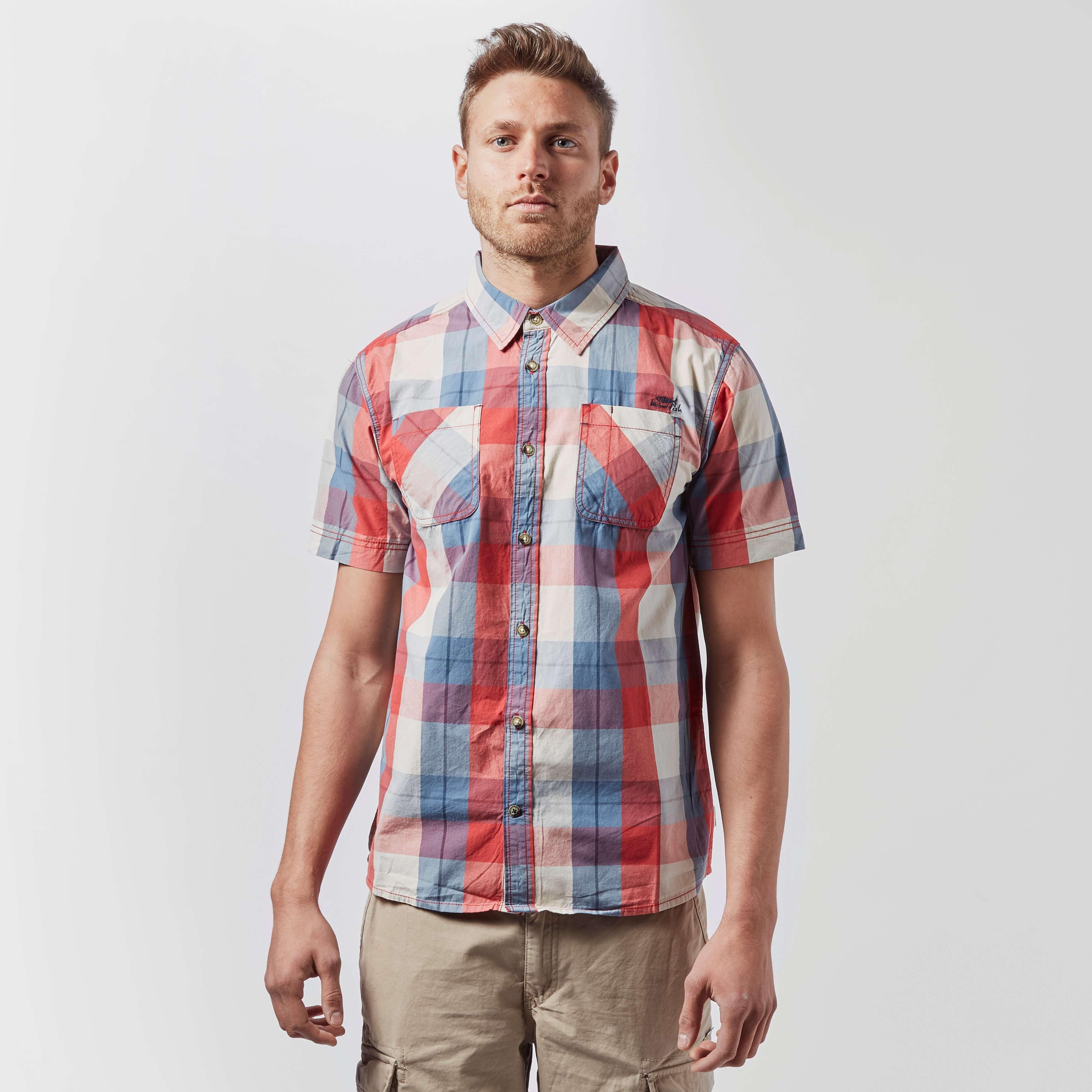 WEIRD FISH Men's Rewind Short Sleeved Shirt