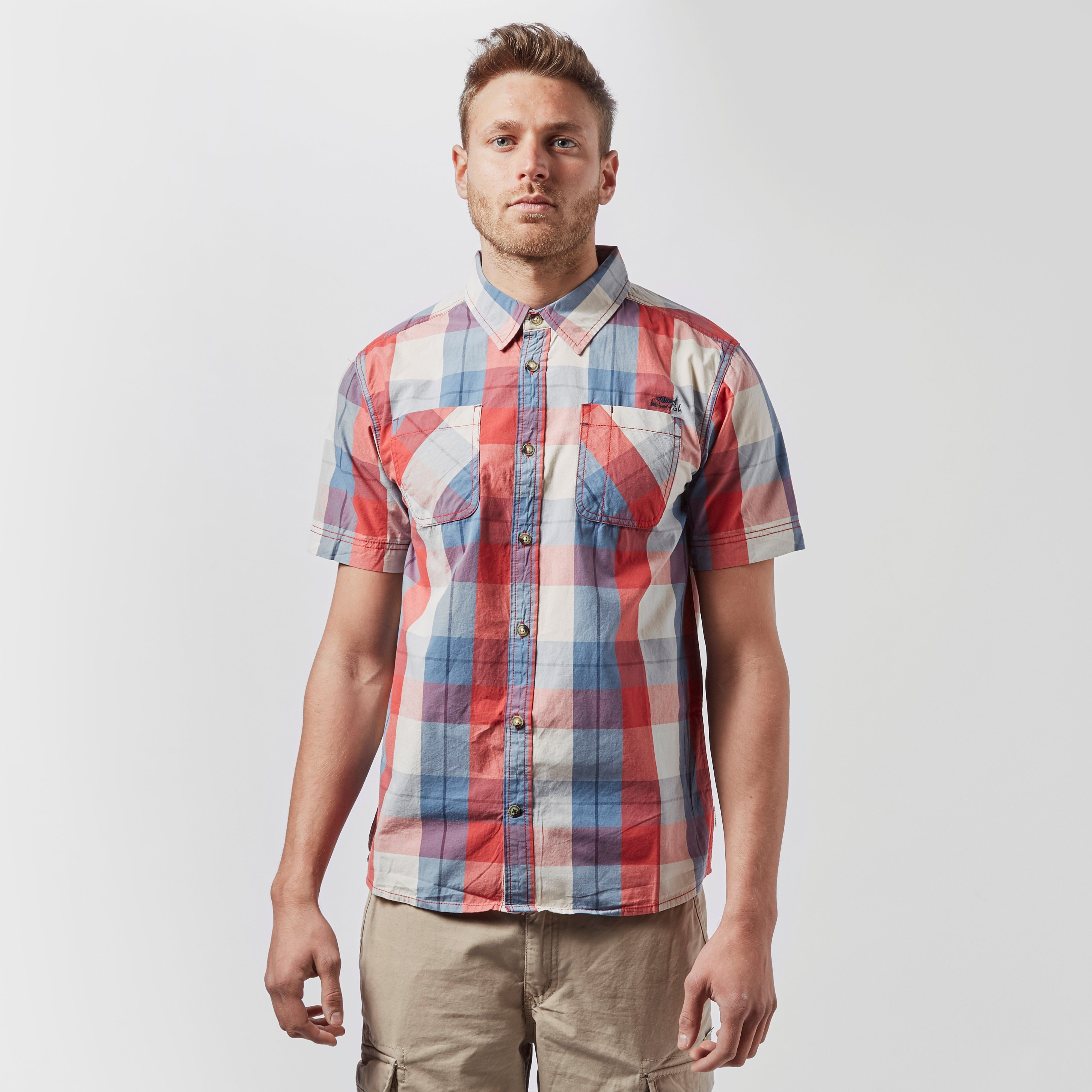 WEIRD FISH Rewind Short Sleeve Shirt