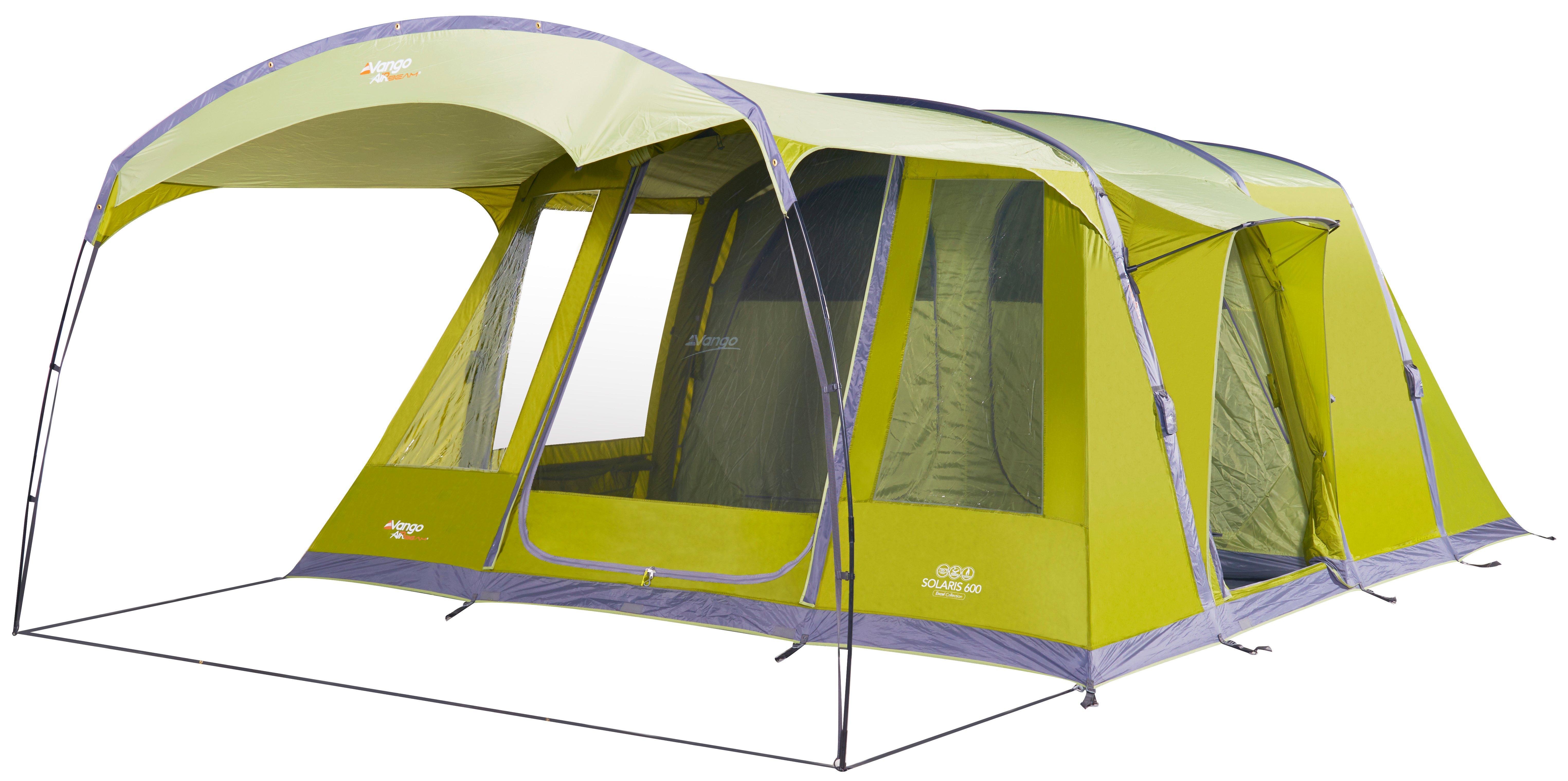 Vango Solaris 600 Family Tent  Green Green