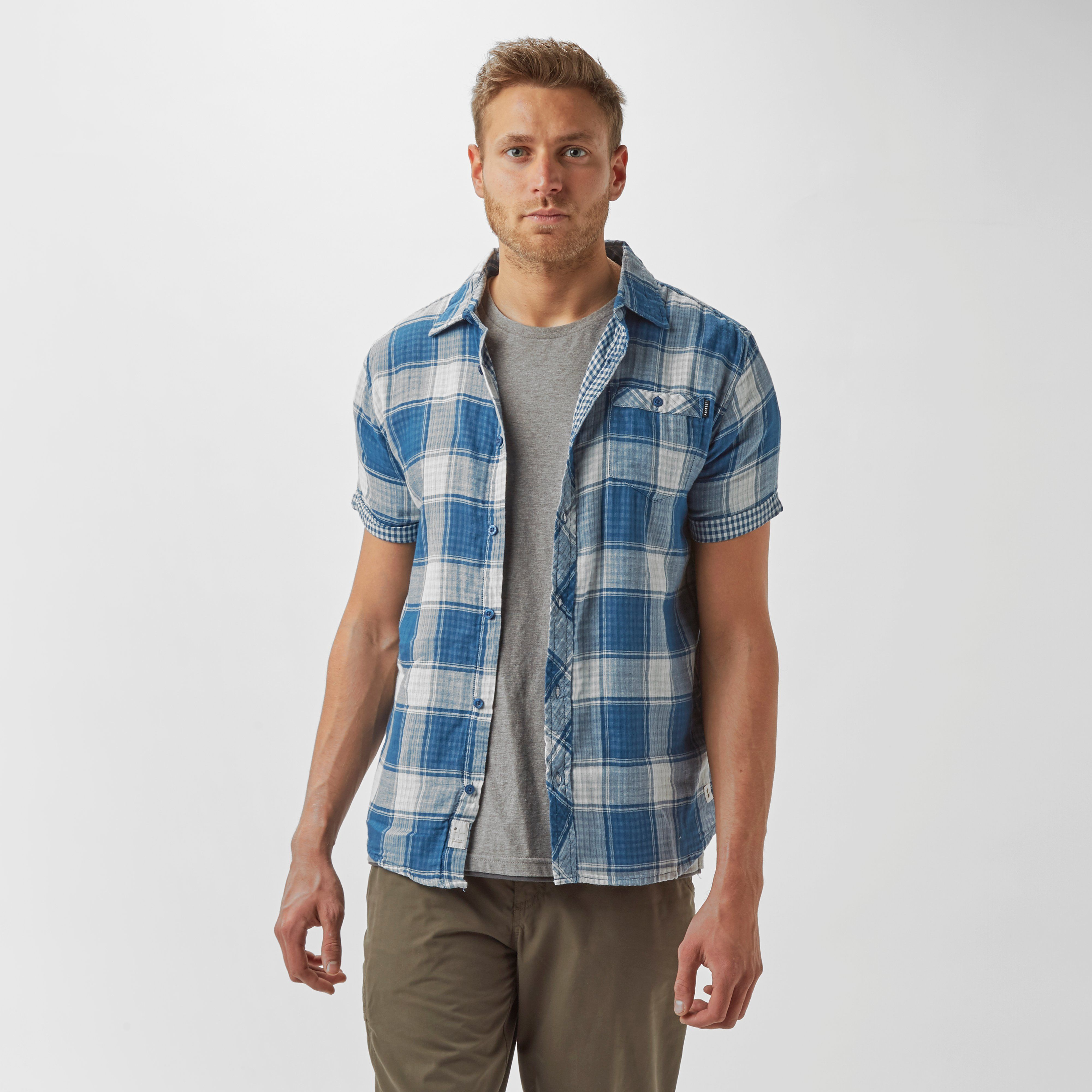 PROTEST Men's Barn Short Sleeve Shirt