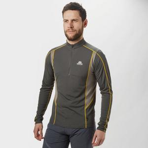 MOUNTAIN EQUIPMENT Men's Crux Long Sleeve Zip T-Shirt