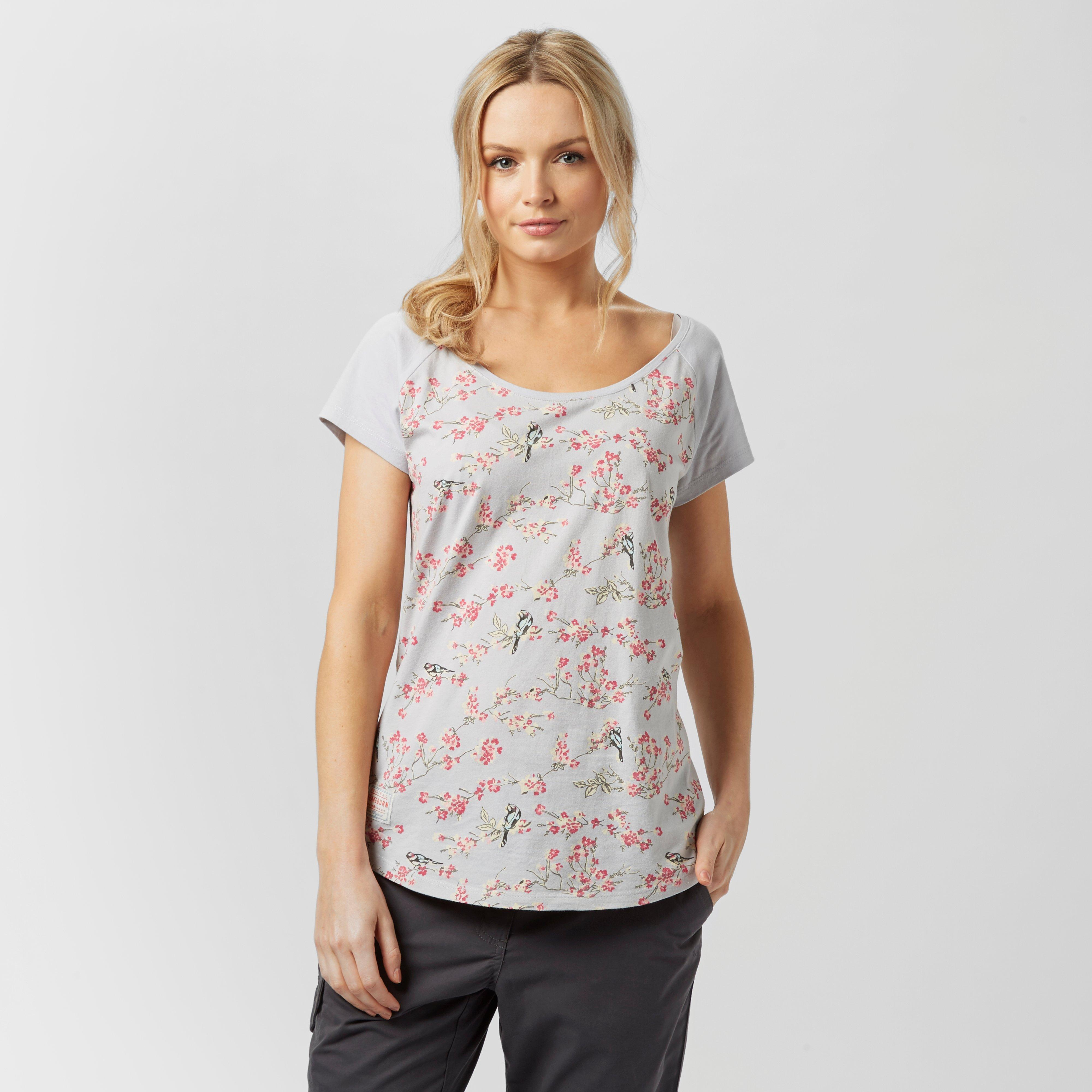 Brakeburn Brakeburn Womens Bird T-Shirt - Grey, Grey