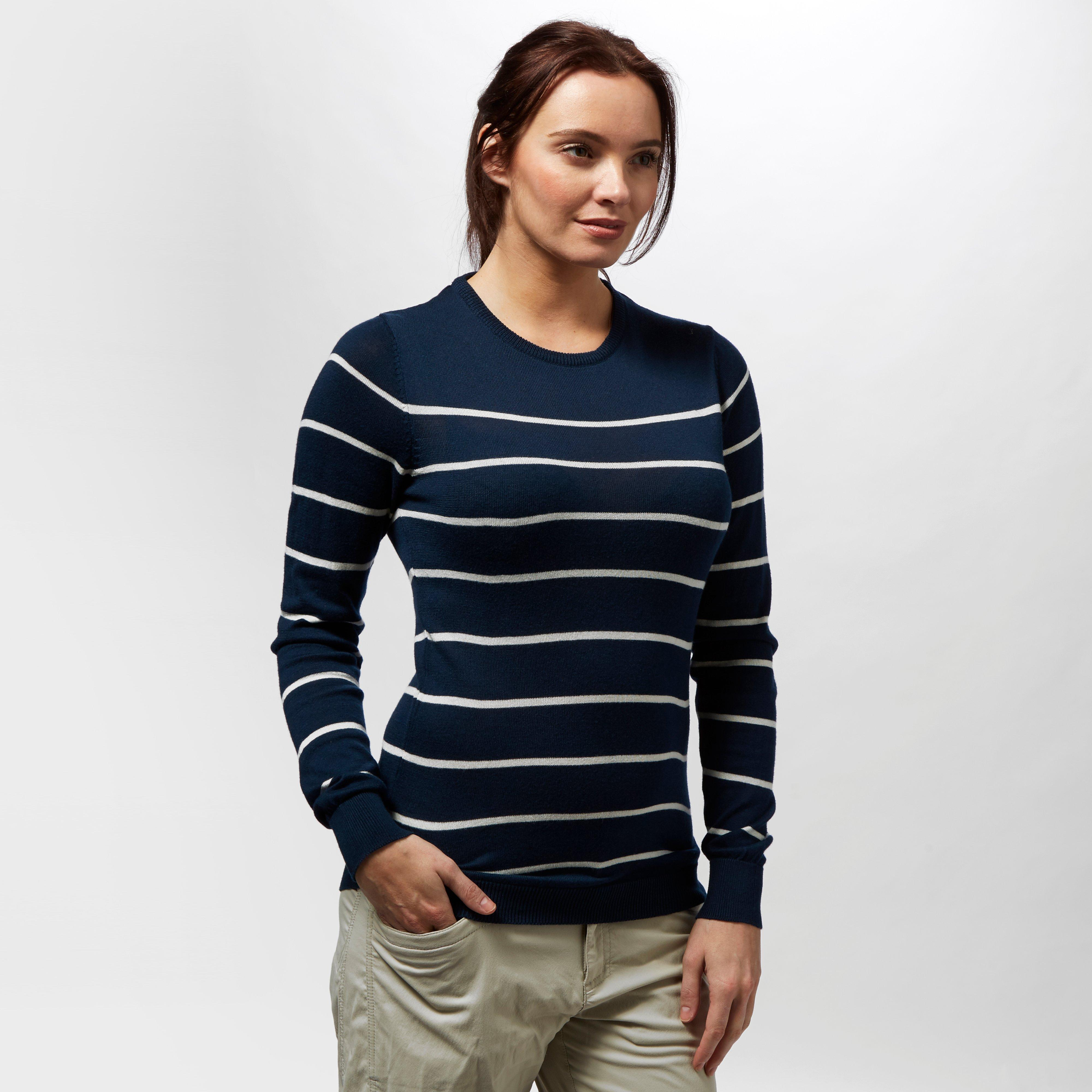 Brakeburn Brakeburn Womens Stripe Knit Jumper - Navy, Navy