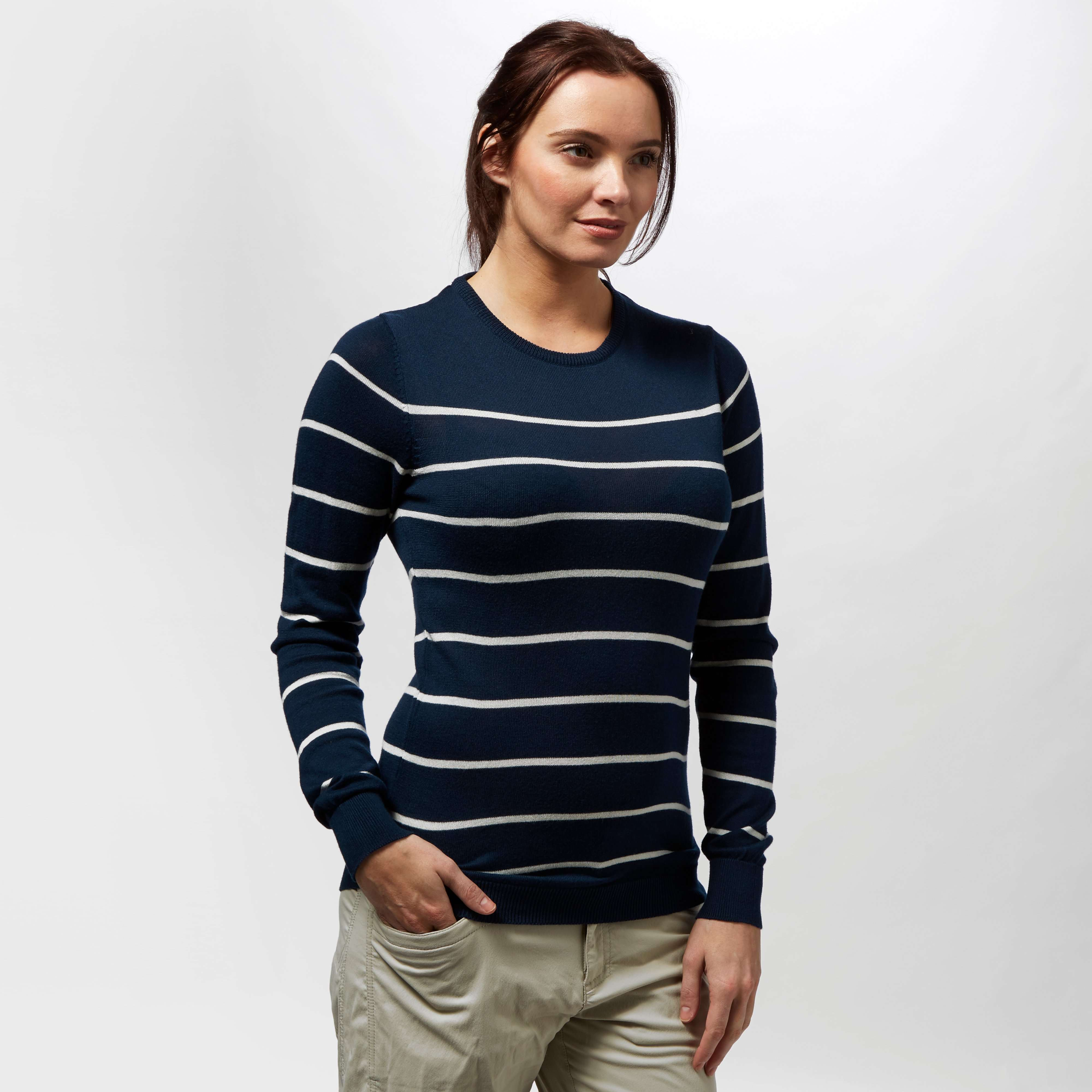 BRAKEBURN Women's Stripe Knit Jumper