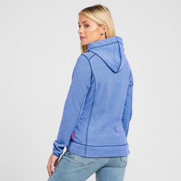 Blue Peter Storm Women's Full Zip Microfleece Hoodie
