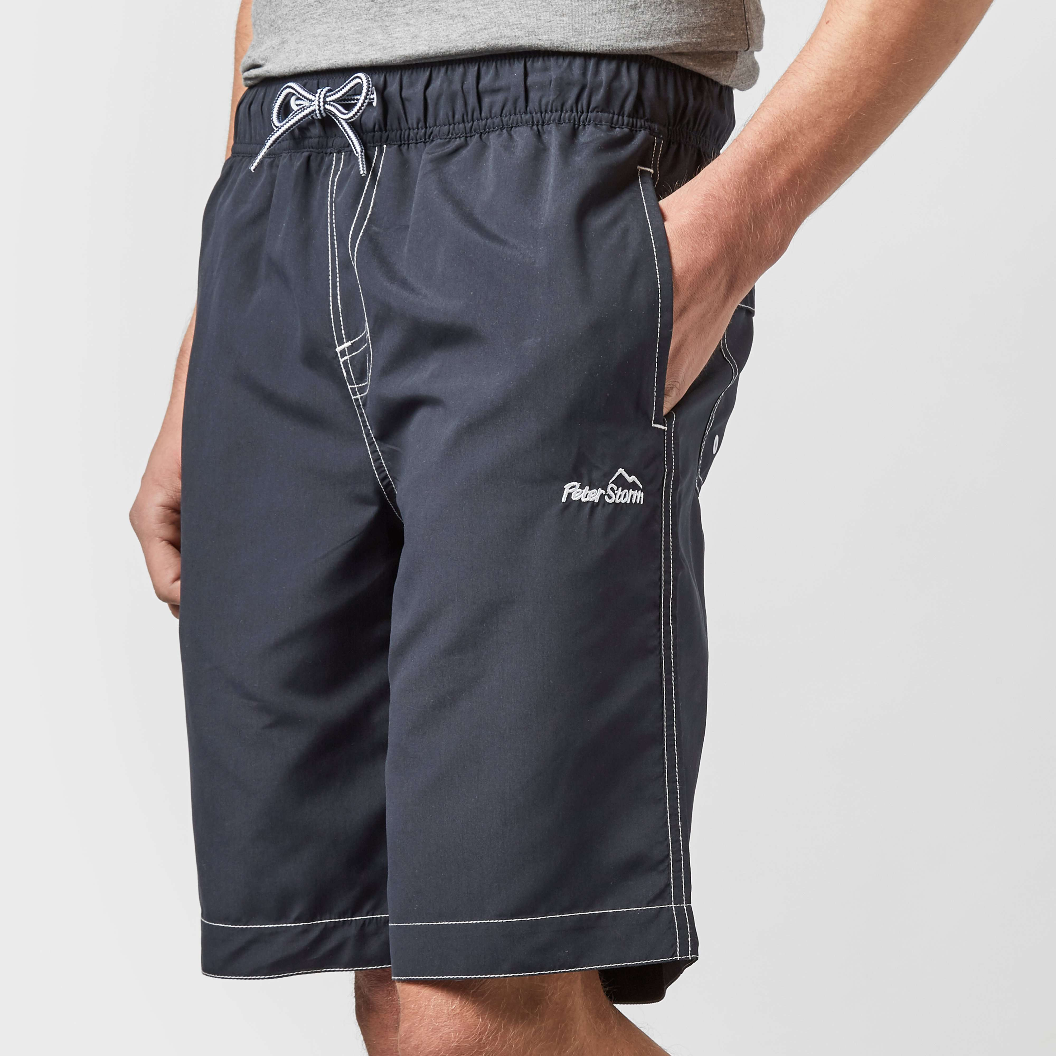 PETER STORM Men's Long Swim Shorts