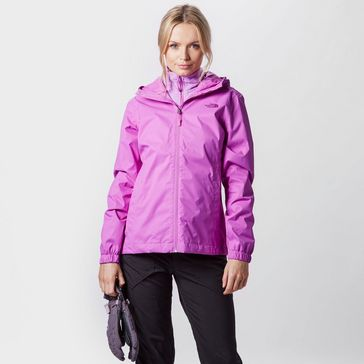 Pink THE NORTH FACE Women s Quest Waterproof Jacket ... 626857001