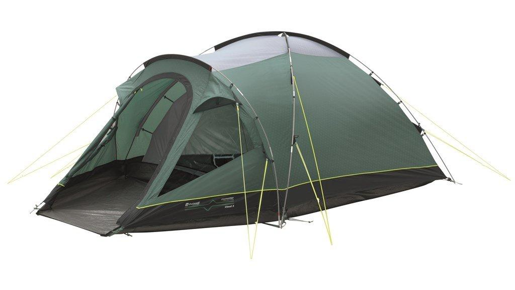 Outwell Cloud 3 Person Tent  Green Green