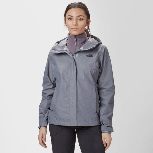 7016de9c5374 Mid Grey THE NORTH FACE Women s Venture 2 DryVent® Jacket image 1