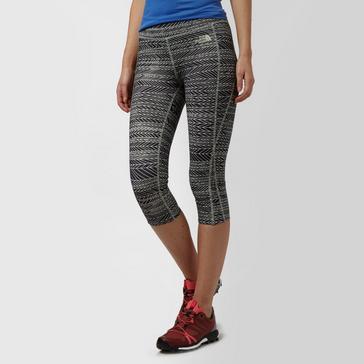 18ccb996a8b56 Black THE NORTH FACE Women's Mountain Athletics Pulse Capri Leggings