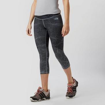 2eeed6dfe5888 Black THE NORTH FACE Women's Mountain Athletics Motivation Capri Leggings