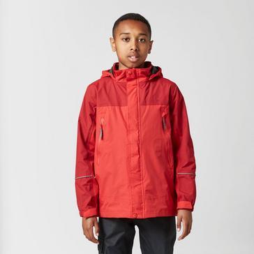 Red Peter Storm Kids' Mercury Waterproof Jacket