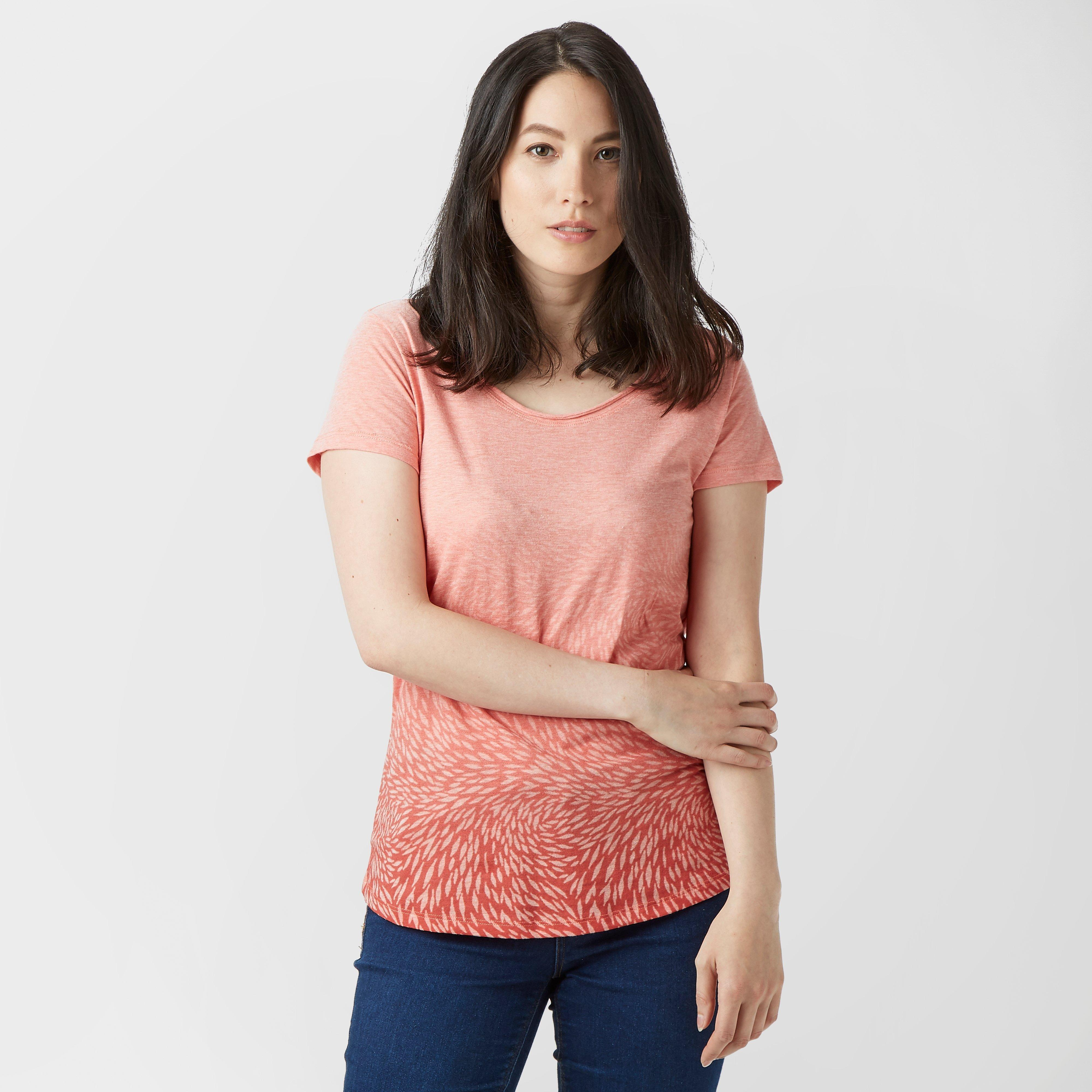 Columbia Columbia Womens Ocean Face Short Sleeve T-Shirt - Coral, Coral