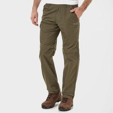 d1e91e3594d Green PETER STORM Men s Ramble II Convertible Trousers ...