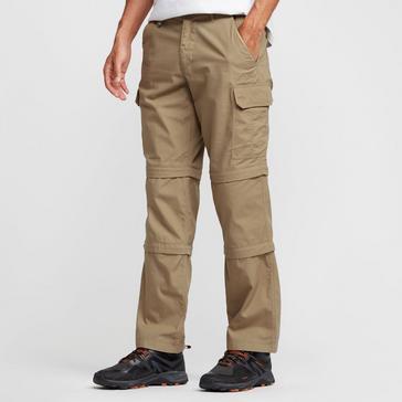 30b35552 Brown PETER STORM Men's Ramble II Double Zip Off Trousers